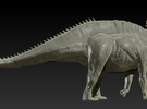1/72 Amargasaurus - Walking 2 in Frosted Ultra Detail