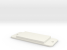 Paddle Light Switch Cover in White Strong & Flexible