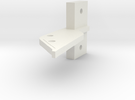 RA800 Single Finger Center With Scribe Line in White Strong & Flexible