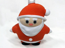 Santa S (7cm) in Full Color Sandstone
