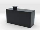 Virginia & Truckee Reno Oil Tank  in Black Hi-Def Acrylate