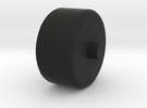Foxic 1/10th scale model wheel in Black Strong & Flexible