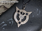 Pendant - Amulet of Articulation in Stainless Steel
