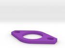 Dellorto FRD 34 Phenolic Spacer in Purple Strong & Flexible Polished