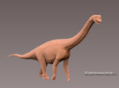 Europasaurus 1:72 v1 in White Strong & Flexible