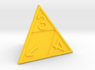 Triforce D4 in Yellow Strong & Flexible Polished