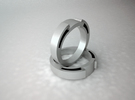 Snake Ring - Size 6.75 in White Strong & Flexible