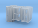 S Scale Bunkhouse Door And Windows 5 Sets in Frosted Ultra Detail