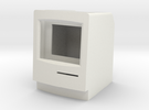 Macintosh Classic II iPod Nano Stand in White Strong & Flexible
