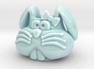 Bunny Planter in Gloss Celadon Green Porcelain