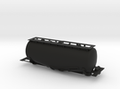 Whale Belly tank car - HOscale in Black Strong & Flexible