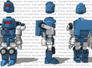 MiniBot - Explorer in White Strong & Flexible