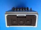 DOD Effects Pedal Battery Cover in Black Strong & Flexible