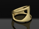 ring ||| K ||| SERIES in Raw Brass