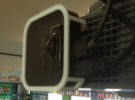 AppleTV  UF55 / UF65 (SmartBoard) projector mount in White Strong & Flexible Polished