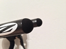 Bar end - Front (for 22.2mm handlebar extensions) in Black Strong & Flexible