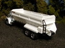 """1/64th """"S"""" Scale Model 802 Self-Unloading Truck Be in White Strong & Flexible Polished"""