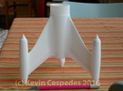 Centuri Quasar Fin Unit for BT-60 in White Strong & Flexible
