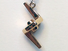 Ressikan Probe Pendant in Polished Bronze