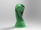 FIFA World Cup Brasil 2014 Logo Cup Design 10cm in Green Strong & Flexible Polished