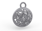 Filigree Earing in Stainless Steel