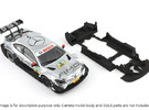 S03-ST3 Mercedes C-Klasse DTM Chassis SSD/LMP in White Strong & Flexible Polished