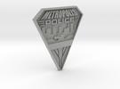 Replica Metropolis PD badge in Metallic Plastic