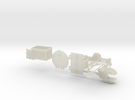 German Panzer 38t 1:18 Scale - Accessories in Transparent Acrylic