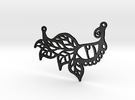 :Faery Magick: Pendant in Matte Black Steel