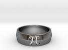 PI Ring Design Ring Size 10 in Premium Silver