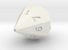 D7 dice in White Strong & Flexible