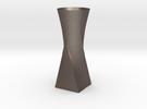 Twist Vase in Stainless Steel