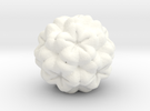 Fractal A in White Strong & Flexible Polished