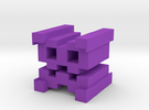 Geometry Dash XStep Icon in Purple Strong & Flexible Polished