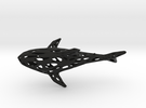 Big Digital Shark - 30cm in Black Strong & Flexible