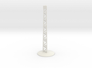 Airplane Display Stand in White Strong & Flexible: 1:144