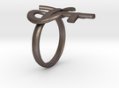 Male Female Ring in Stainless Steel