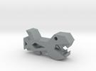 Geometry Dash Space Ship #1 in Polished Metallic Plastic