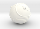 Golden Snitch (Lifesize) in White Strong & Flexible Polished