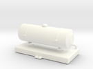 FA20008 Fuel Tank (Tamiya Wild One, FAV) in White Strong & Flexible Polished