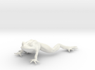 12.9 cm frog in White Strong & Flexible