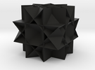 Uniform Gt. Rhombicuboctahedron in Black Strong & Flexible