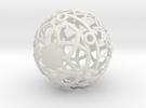 Christmasball in White Strong & Flexible