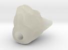 Cat Head jewel in Transparent Acrylic