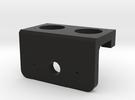Heavy Duty Servo Mount for Ultrasonic Sensor in Black Strong & Flexible