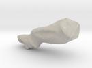 Moai model in Sandstone