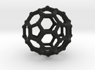 Truncated icosahedron in Black Strong & Flexible