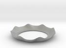 Bobeche (candle cuff) in Metallic Plastic