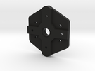 Small Camera Servo Mount in Black Strong & Flexible