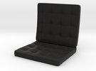 seat_12cm in Black Strong & Flexible